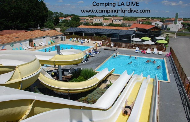 Camping LA DIVE 5 - Saint-Michel-en-l'Herm