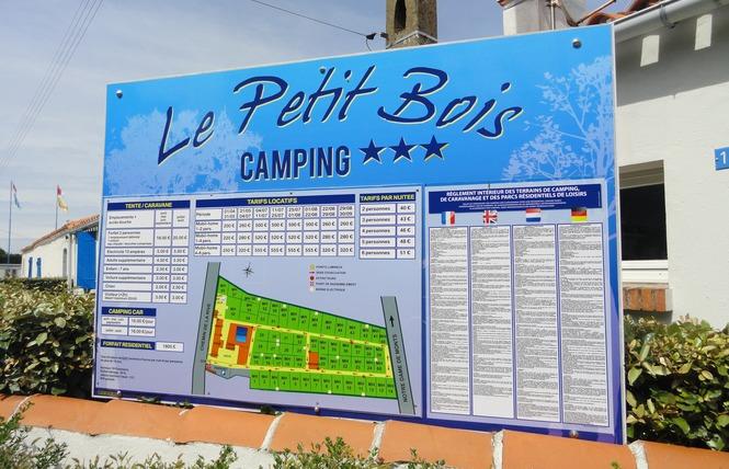 Camping LE PETIT BOIS Campings en Vendée # Camping Le Petit Bois Saint Jean De Monts
