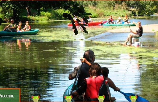 Camping LE MOULIN DE RAMBOURG 3 - Nesmy