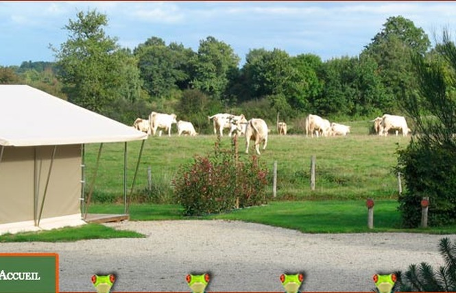 Camping LE MOULIN DE RAMBOURG 2 - Nesmy