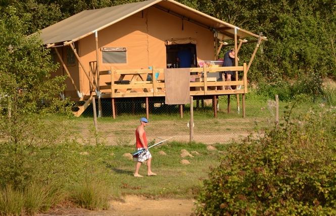 Camping VILLAGE DE LA GUYONNIERE 13 - Saint-Julien-des-Landes