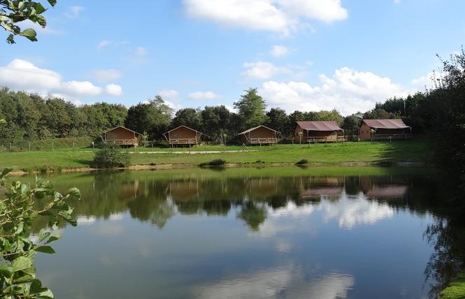 Camping VILLAGE DE LA GUYONNIERE 12 - Saint-Julien-des-Landes
